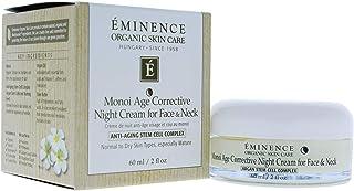 Eminence Organic Skin Care Monoi Age Corrective Night Cream For Face & Neck, 2 Ounce