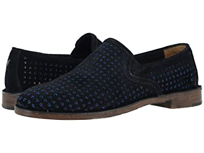 Trask Ali Perf (Navy English Suede) Women