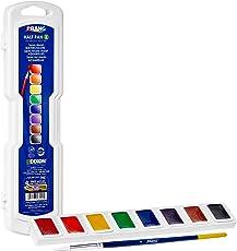 Prang Half Pan Watercolor Set, Assorted Colors