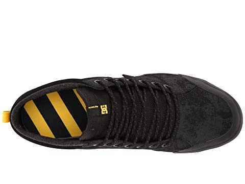 GumBlack Evan Black Smith Hi DC Yellow Black WNT ZdYffw