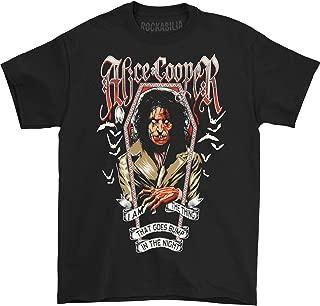 Alice Cooper Men's Halloween Bump 2016 T-Shirt Black