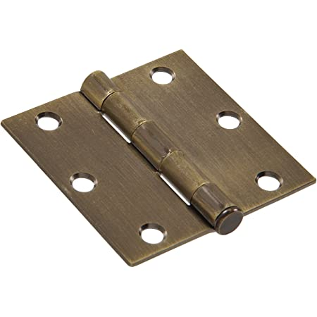 Size:59x44.7mm 1 Pair of Industrial Hinges with Zinc Alloy Chrome