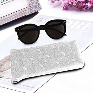 Jacksome Paisley Decor Microfiber Sunglasses Glasses & Cell Phone Gadgets Accessories Sleeve Bag Pouch Protection Storage