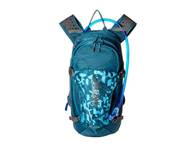 CamelBak L.U.X.E. 100 oz. (Dragon Teal/Camelflage) Backpack Bags