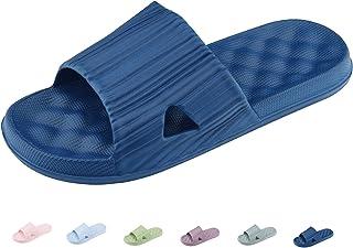 a0d1491fa2 Xunlong Chaussons de Douche Unisexe Anti-Dérapage Maison Salle de Bain  Pantoufle Sandales de Piscine