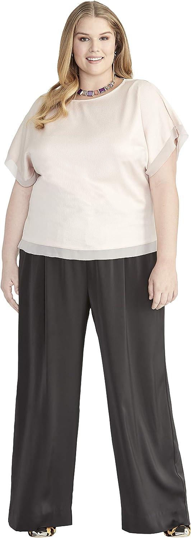RACHEL Rachel Roy Women's Plus Size Easy Satin Top