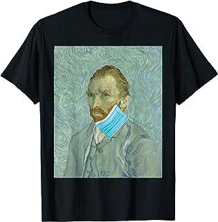 Funny van gogh face mask meme T-Shirt