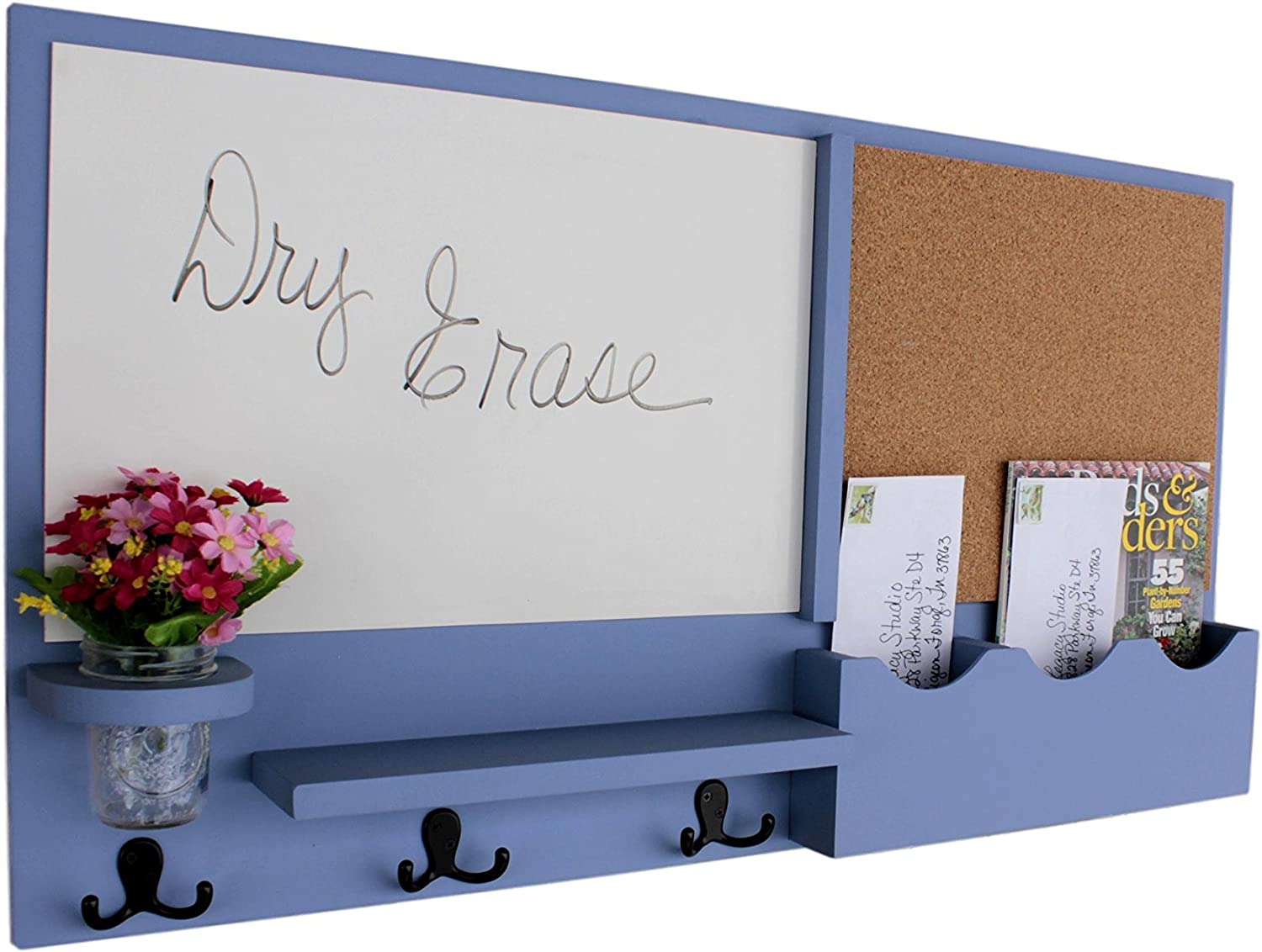Legacy Studio Courier shipping free Decor Message Center with White M famous Board Cork