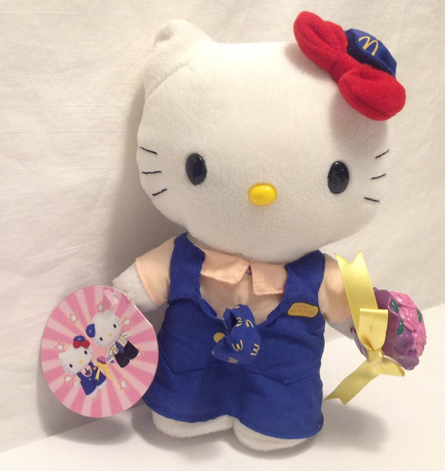 Sanrio McDonald's Crew Wedding 9  Plush Hello Kitty
