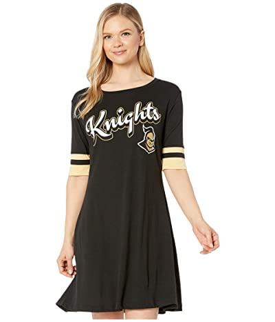 Champion College UCF Knights Field Day Dress (True Black/Vegas Gold) Women