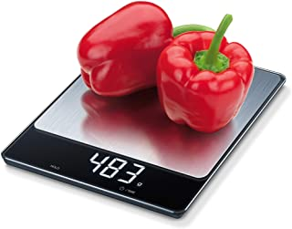 Beurer 33 Lbs. Xl Stainless Steel Multi-Function Digital Kitchen Food Scale, Measures In 4 Units, Auto-off, KS34