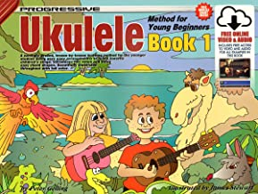 CP15002 - Progressive Ukulele Method for Young Beginners Book 1