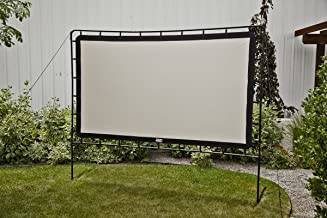 Camp Chef Outdoor Entertainment Gear Curved Portable Movie Projection Screen