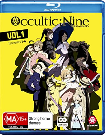 Occultic;nine Vol 1 (Eps 1-6) [Limited Edition] (Blu-ray)
