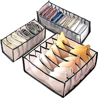 Organisateur de Tiroir, Vètements Boîte de Rangement Pliable, Organisateur sous Vetement, Boîte de Rangement Pliable pour ...