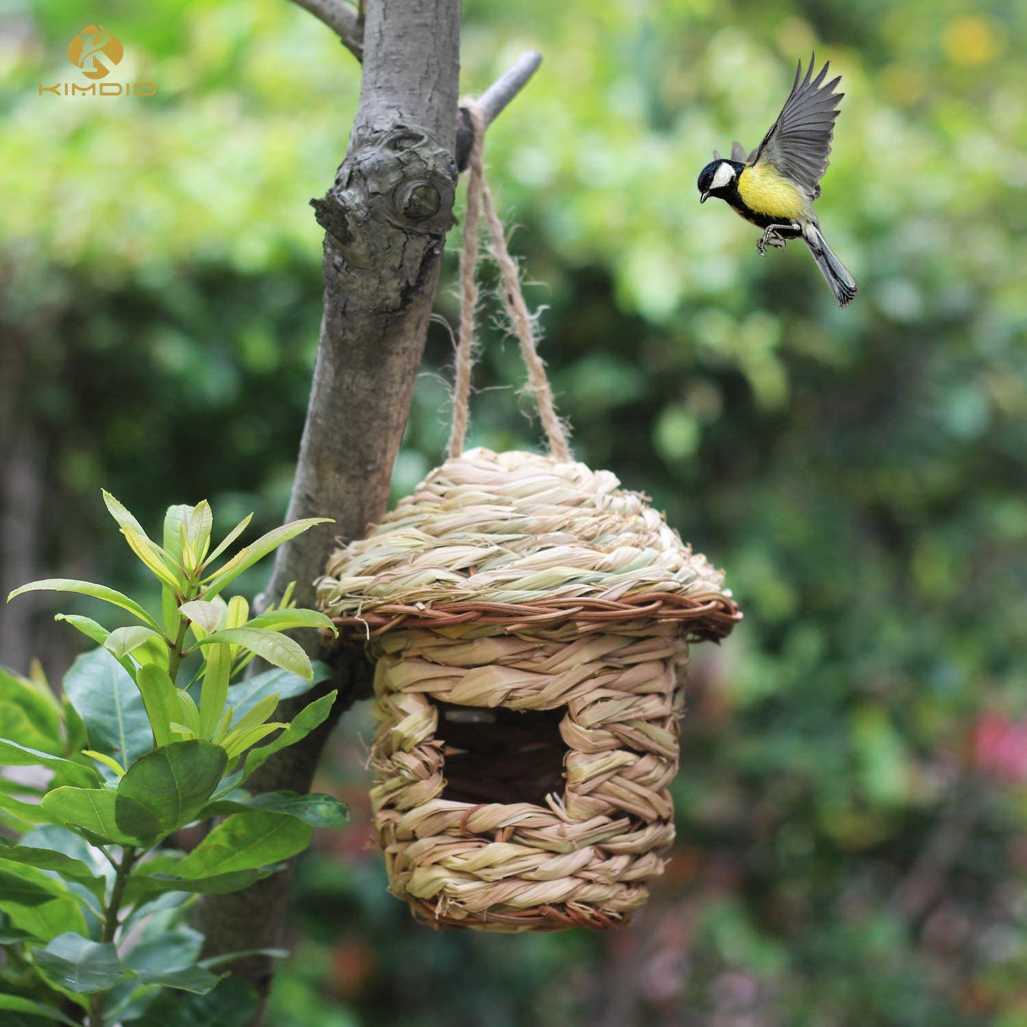 Kimdio Bird House Winter Ranking TOP5 for Ha OFFicial site Grass Hanging Outside