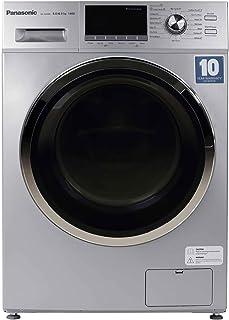 Abaya Wash Panasonic 8KgWash 6KgDry Front Load Washing Machine , Washer Dryer Silver - NA-S086M3, 1 Year Warranty