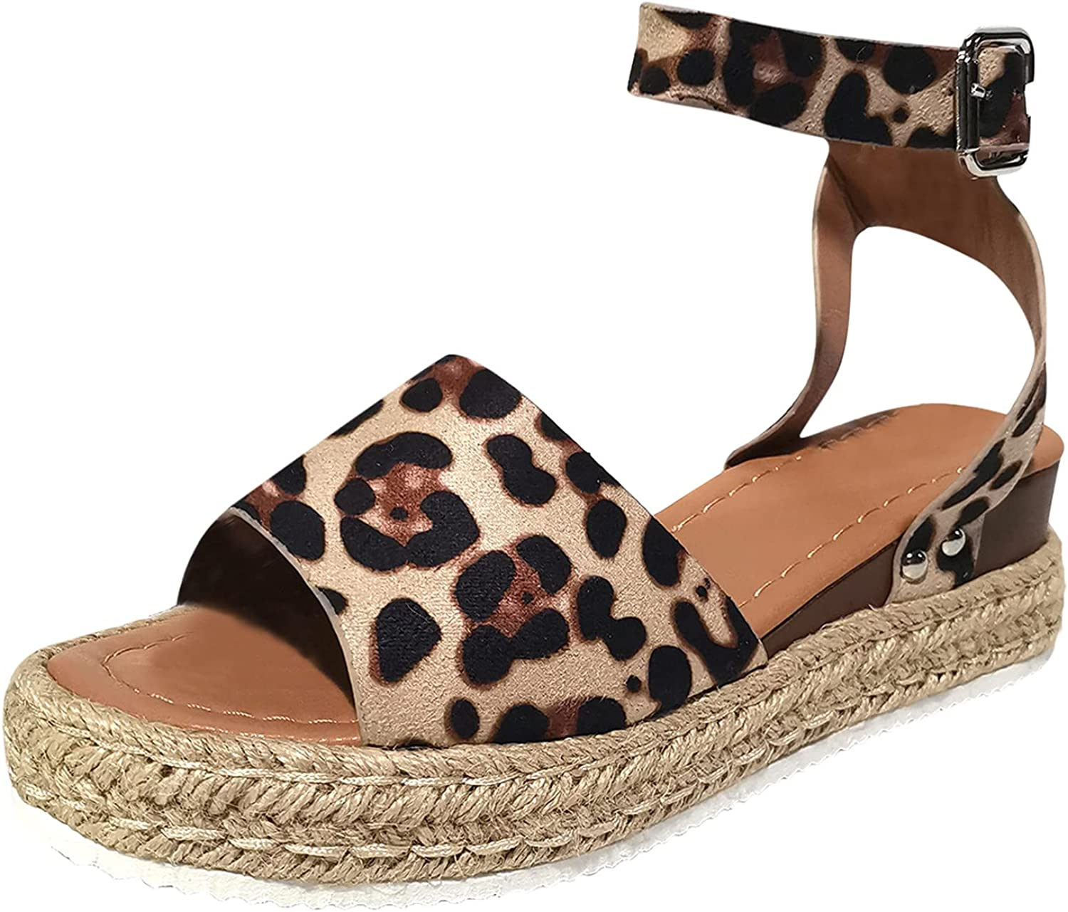 Ultra-Cheap Deals Goldweather Wedge Sandals for Women Shoes T Strap Ankle Open Toe Memphis Mall