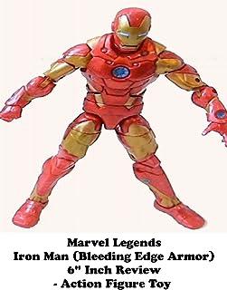 Review: Marvel Legends Iron Man (Bleeding Edge Armor) 6