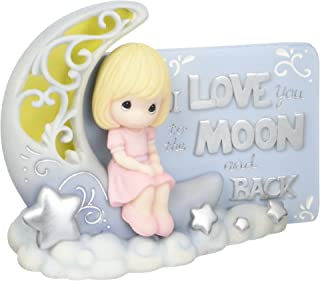 Precious Moments I Love You To The Moon & Back Led Light Resin Figurine 163408