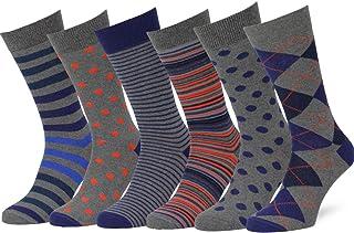 Easton Marlowe Calcetines Estampados Colores Brillantes Algodon Hombre Mujer