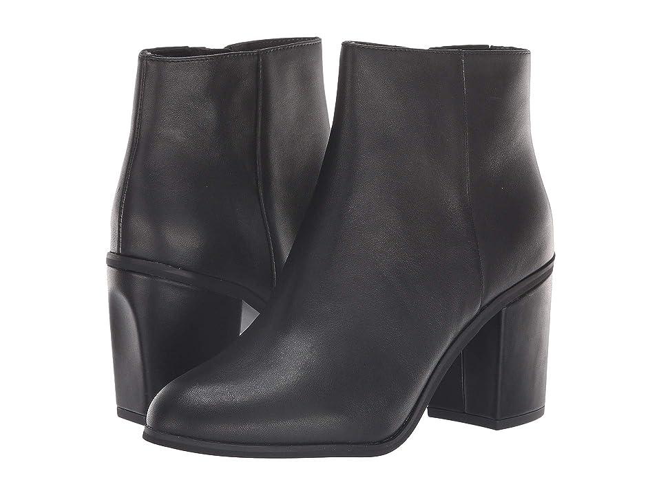 Seychelles Mist Bootie (Black Leather) Women