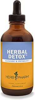 Herb Pharm Liquid Herbal Detox Formula for Cleansing and Detoxification - 4 Ounce