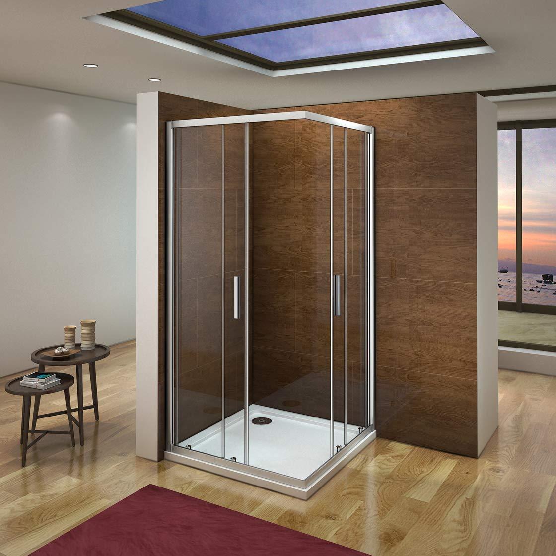 Mampara de Ducha Angular cabina de ducha mampara de ducha cuadrada ...