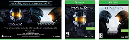 Bundle Two Pack Halo Collection: Halo 5 + Halo Master Chief - Xbox One - Bundle Edition