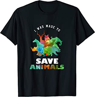 Cool Vets Veterinarian Made To Save Animal Rescuer gift T-Shirt