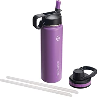 Thermoflask 50053 Double Stainless Steel Insulated Water Bottle, 24 oz, Plum