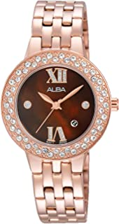 Alba Watch for Women - Analog Stainless Steel Band - AH7H34X