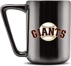 Duck House MLB SAN FRANCISCO GIANTS Ceramic Coffee Mug - Metallic Black, 16oz