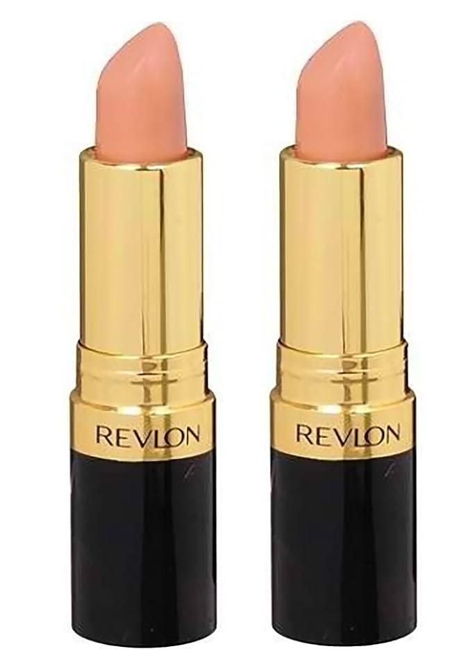 はっきりしないお互い憂鬱なREVLON Super Lustrous Lipstick Shine - Honey Bare 840 (並行輸入品)