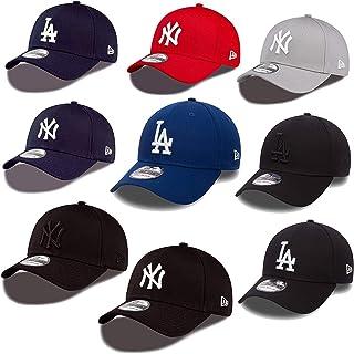 New Era 39thirty Gorra Nueva York Yankees Los Angeles Dodgers en Bundle con UD CALAVERA PAÑUELO en Muchos Colores