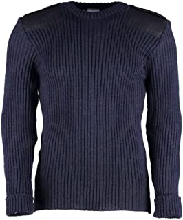 woolly pully navy