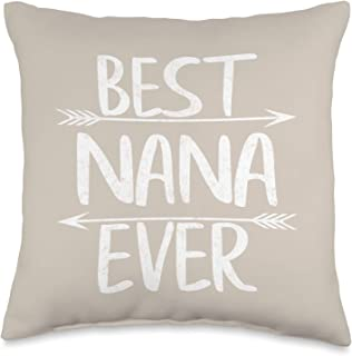 Nana Gifts Throw Pillows Decorative Pillows Inserts Covers Home Kitchen