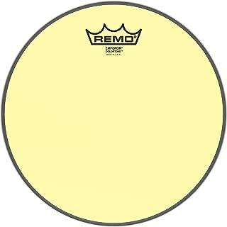 Remo Emperor Colortone Yellow Drumhead ,10
