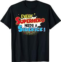 superhero and sidekick shirts