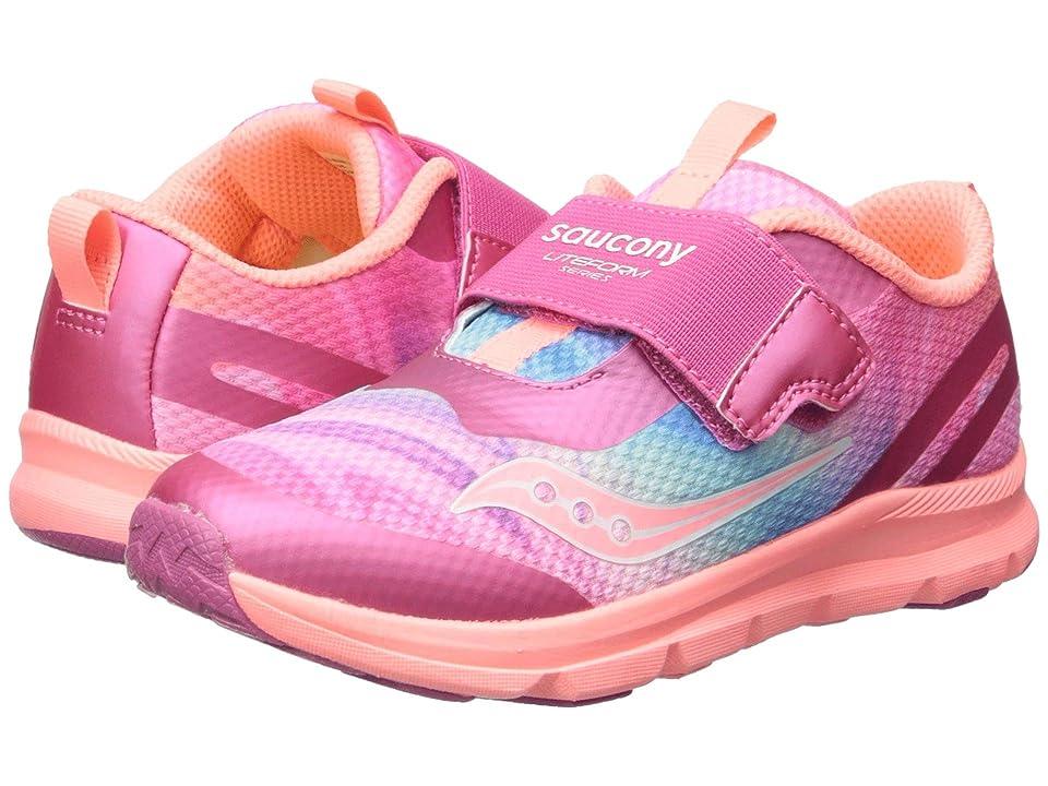 Saucony Kids Liteform (Toddler/Little Kid) (Pink/Multi) Girls Shoes