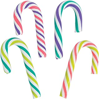 Holiday Christmas Bright Mini Candy Canes - 100 Pieces
