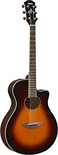 Yamaha APX500III Thinline Cutaway Acoustic-Electric Guitar, Old Violin Sunburst
