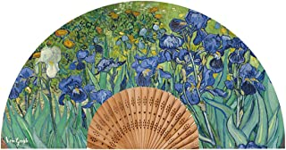 Van Gogh Abanico Modelo Iris Tela