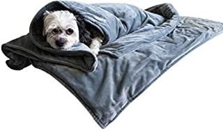 Canine Coddler The Original Dog Anti-Anxiety Blanket Wrap for Stress Relief and Calming with Premium Washable Cover Great for Separation Anxiety Bark Control