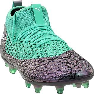 2b161e7a03510 PUMA Mens Future 2.2 Netfit Firm Ground/Artificial Grass Soccer Athletic  Cleats