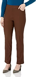 Alfred Dunner womens Alfred Dunner Allure Slimming Missy Stretch Pants - Modern Fit Casual Pants