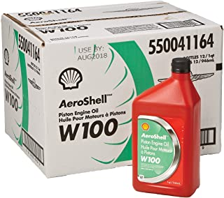 aeroshell w100 aviation oil