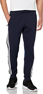 Adidas 3-Stripe Drawstring-Waistband Back-Logo Sweatpants for Men