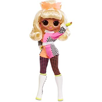 L.O.L. Surprise! O.M.G. Lights Speedster Fashion Doll with 15 Surprises, Multicolor