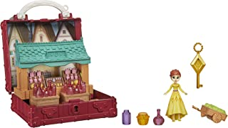 Disney Frozen Pop Adventures Village Set Pop-Up Playset With Handle, Including Anna Small Doll Inspired by Disney Frozen 2...